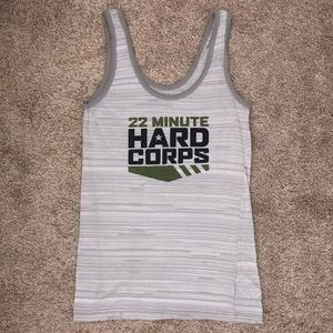 22 Minute Hard Corps Workout Tank!